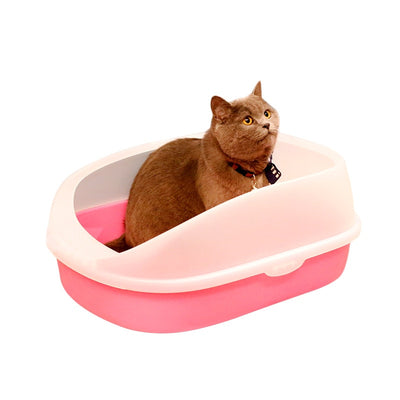 Toilet Cat Litter Box Cat Tray Teddy Anti-Splash Toilette  with cat litter shovel Cat Indoor Home Sandbox