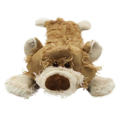 Cute Bear Shape Pet Dog Toys Squeaking Stuffed Plush Toys For Dogs Cat Chew Squeak Toy