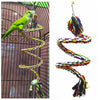 Parrot Rope Cockatiel-Toy Swing-Supplies Perch Bird-Cage Training-Accessories Pet-Stand