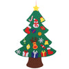 Felt Christmas Tree for Kids 3.2Ft Diy Christmas Tree with Toddlers 18Pcs Ornaments for Children