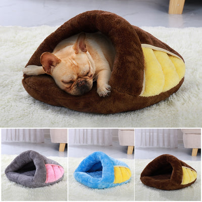 Super Soft Dog Bed House Warm Winter Puppy Sleeping Beds Mat for Dog Small Medium
