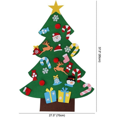 Ourwarm Hanging-Ornaments Party-Decoration Christmas-Tree Xmas New-Year-Gifts Felt DIY