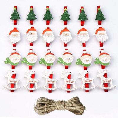 OurWarm Felt Christmas Tree Snowman Santa Hanging Sticker Ornaments Kids Parent Toys