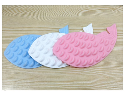 Massage-Brush Pet-Supplies Dog-Toys Face-Cleaning Self-Adhesive Scratching Soft-Silicone