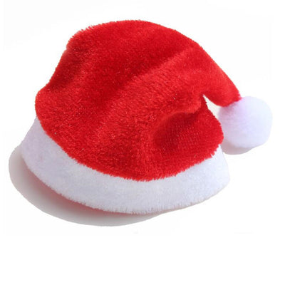 Hat Santa-Cover Christmas-Gift Mini Christmas-Wine-Bottle-Cover-Decoration