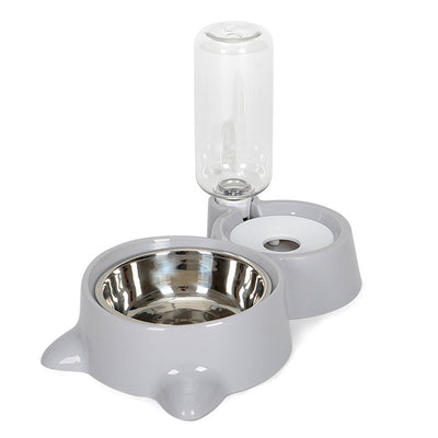 Automatic Pet Feeder Water Dispenser Cat Dog Drinking Bowl Watering Supplies