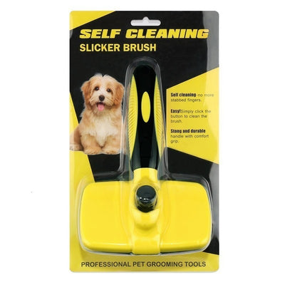 Benepaw Pet-Grooming-Tools Slicker Dog-Brush Hair Self-Clean Small Dog Large Premium