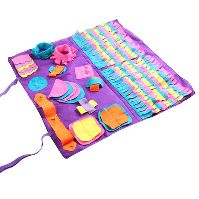 Sniffing Mat Blanket Play-Toys Puzzle Food-Training Dog-Mat Pet-Dog Find for Relieve-Stress