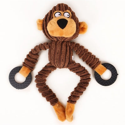 Toys For Dogs Plush Toy Soft Toy Little Monkey Jouet Chien Stuff Chew Toys Puppy Plush