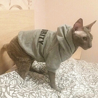 Cat Clothes Pet Cat Coats Jacket Hoodies For Cats Outfit Warm Pet Clothing Rabbit Animals