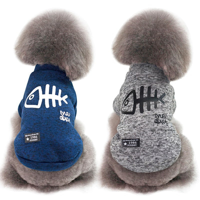 Hoodies Costumes Coats Jacket Outfits Cat-Clothing Kitty Winter Cute Dogs for Small Medium