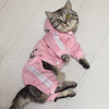 Fashion Cat Clothes For Cats Winter Warm Cotton Cat Clothing