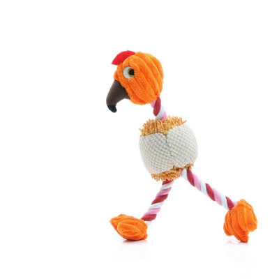 28*6cm Pet Products Bird Shape Plush Dog Toy for Small Dogs