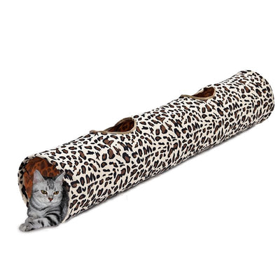 PAWZ Road 2 Holes Leopard Fun Playing Cat Rabbit Dog