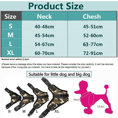 Pet-Products Dog-Harness Led-Collar K9 Chihuahua TAILUP Large Vest Puppy Lead Pets Pets