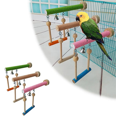 GoldCister Multifunctional Bird Toy Parrot Claws Honing