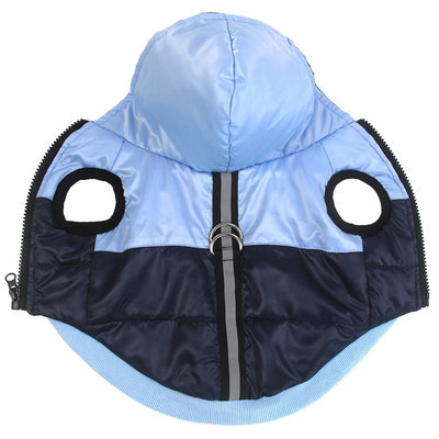 Vest Jacket Dog-Coat Reflective Chihuahua Waterproof Winter Hoodies Puppy Small Dog Warm