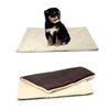 Super Soft Self Heating Cat Dog Bed Cushion Pet Thermal Warm Fleece Rug Mattress