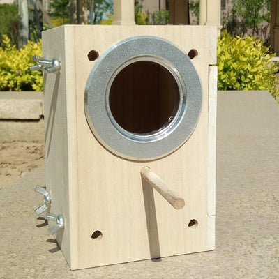 flowerherd Birds Nest Box DIY Cage Breeding Parrot