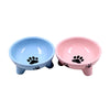 Dispenser Feeding-Bowl Food-Feeder Puppy-Products Pet-Dog-Ceramic Bol Non-Slip Small