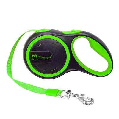Dogs Leashes Pet Reflective Retractable Austomatic Small Puppy Medium