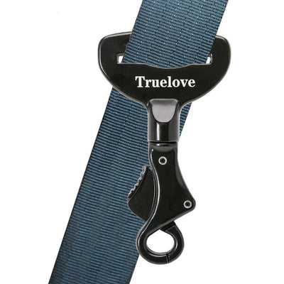 Truelove Safety-Buckle Harness Collar Seat-Belt Pet Portable Lightweight Aluminium-Alloy