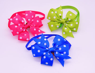 Bow-Ties Dog-Grooming-Accessories Pet-Bows-Collar Cat-Bowtie Pet-Supplies Small 50pcs