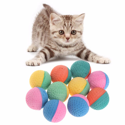Chew-Toys Latex-Balls Pet-Supplies Pet-Dog-Cat-Toy Puppy Cats Kitten Elastic Colorful