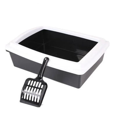 Petshy Pet-Supplies Cat-Litter-Box Cat Toilet Bedpan-Case Anti-Splash Plastic Semi-Closed