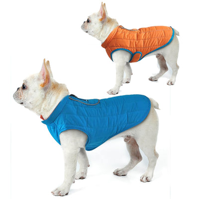 Coat Pet-Clothing Dog-Jacket Small French Waterproof Large Winter Medium Big-Dogs Perro