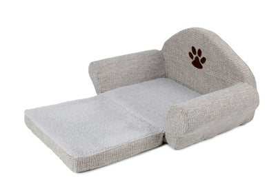 Bed Kennel Pet-Products Cat-House Animals Paw-Design Pet-Cushion-Mat Removable Dog Sofa