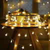 Ornaments Stars-Lights Xmas-Tree-Garland Natal-Decoration Christmas DIY 6m Battery-Powered