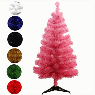 Artificial Christmas Tree Snowflake Xmas Plastic Tree New Year Home Ornaments