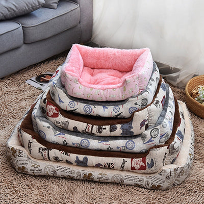 Almotaapet Plus Size Warm Soft Fleece Bed Sofa For Small Cats