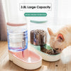 Bowl Pet-Feeder Food-Container Water-Dispenser Automatic Puppy-Drinking-Bowls For Dogs