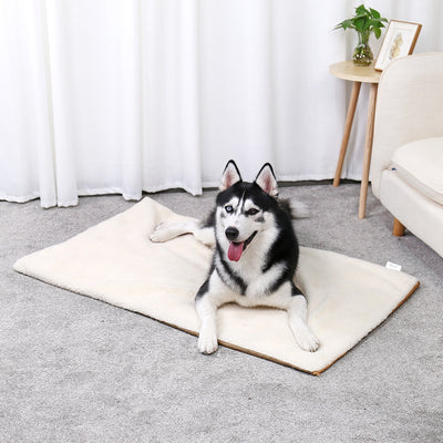 Bed for Self-Heating-Pad Large Pet-Warming-Cushion Dog Pets-Own-Thermal Washable