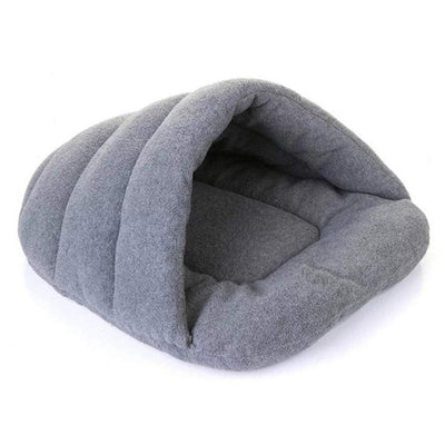 AINOLWAY Warm Cat Bed Cave House Slippers Beds Kitten Nest Kennel