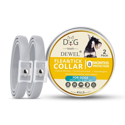Dog-Collar Herbal Anti-Flea Dewel Waterproof Protection Cat 2pcs Insect 8-Months Ticks