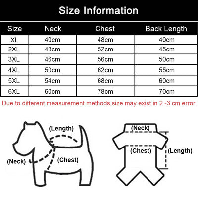 MySudui Medium Big Dog Winter Clothes For Dogs Pets Clothing Reflective Dog Jackets Outdoor