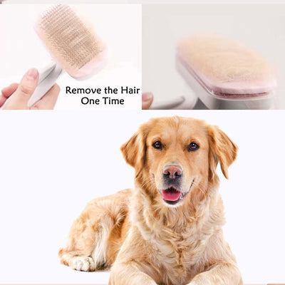 High Quality Pet Products Pet Comb for Dogs Grooming Toll Automatic Hair Brush Brush