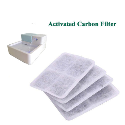 ACTIVATED-CARBON-FILTER DISH-FILTER Pet-Bowl Water-Drinking-Fountain Dog Automatic
