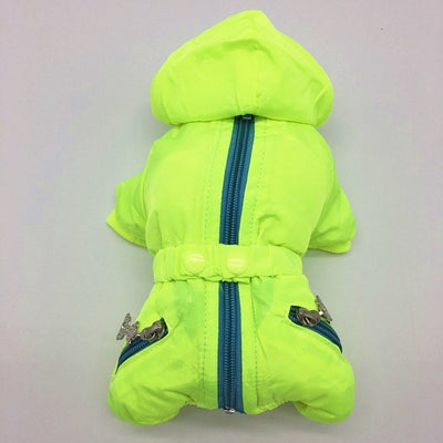 Pet Outfit Jacket QUILTED Dog-Coat Cozy Winter High-Quality Warm Vest Water-Repellent