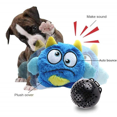 Dog-Toy Entertainment Interactive-Bird-Toy Puppy Exercise Plush Crazy Electronic Giggle