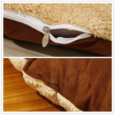 Benepaw Thick Pet Beds For Dogs Washable Soft Medium Large Big Dog Bed House Removable