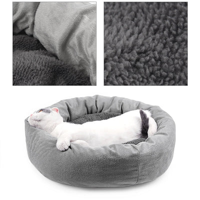 piang gouer Pet Kitten Cat Beds Mats Gray Sleeping Bag
