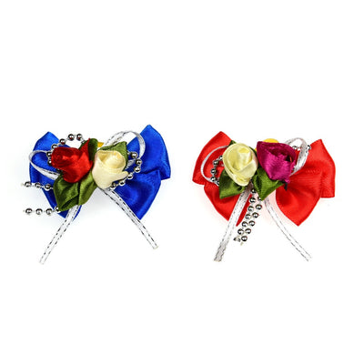 Hair-Accessories Bands Pet-Grooming-Products Pet-Hair Topknot-Bows Rubber Dog Large 100pcs