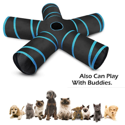 Toy Nest-Toys Pet-Tunnel Play-Tent Cat Foldable Ball Kitten Funny Rabbit Bulk