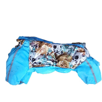 Dog-Clothing Cat-Products Dachshund Luxury Pets Warm-Down Winter Yorkshire for Zipper-Jackets