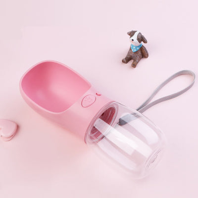 Pet-Dog Water-Dispenser-Feeder Water-Bottle Portable Drinking-Bowl Puppy Dogs Cats Travel