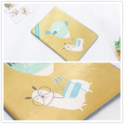 Benepaw Mats Puppy-Bed Pet-Dog-Cooling-Mat Dog-Beds Wearproof Washable Small Large Cartoon